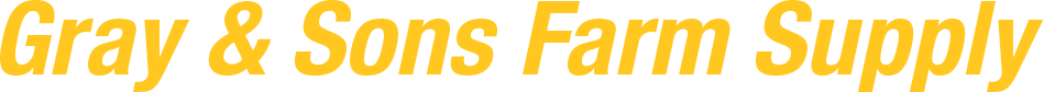 Gray and Sons Farm Supply logo